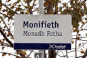 Monifieth rail station