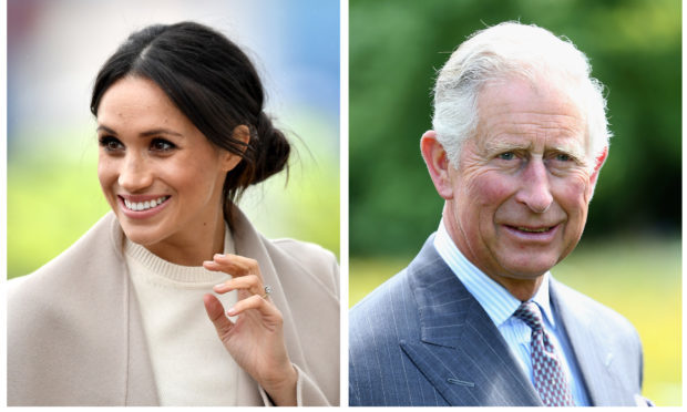 Meghan Markle was escorted up the aisle by Prince Charles. Nadia, however, has chosen her mum to join her on the symbolic jaunt.