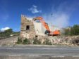 The demolition work being concluded on Saturday May 13.