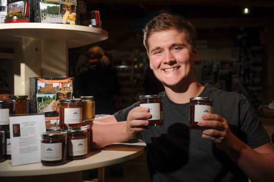 Owen Foster with some of his products.