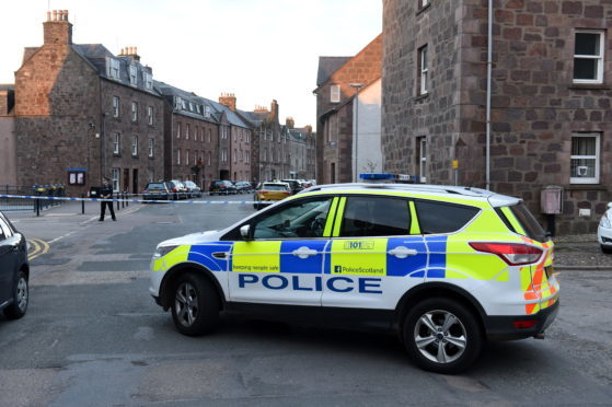 Police Scotland closed the High Street in Stonehaven after the incident.