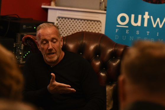 Richard Jobson in conversation during the 2017 event