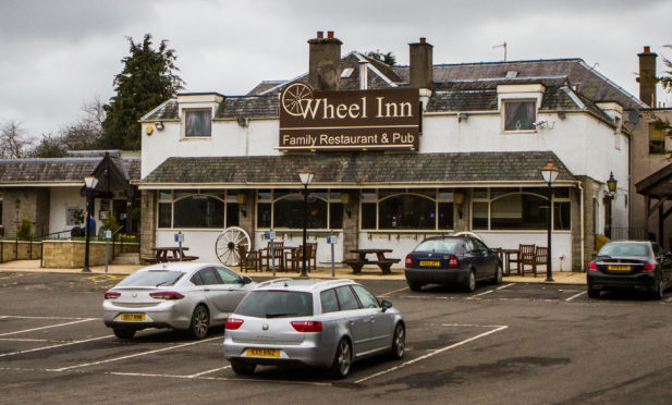 The Wheel Inn, Scone.