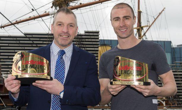Stewart Petrie (left) and Sean Dillon.