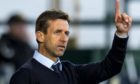 Neil McCann points the way after Dundee beat Ross County.