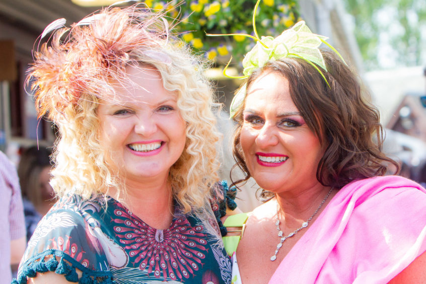 Ashley Bertie and Lynn Whelan (best friends from Dundee).