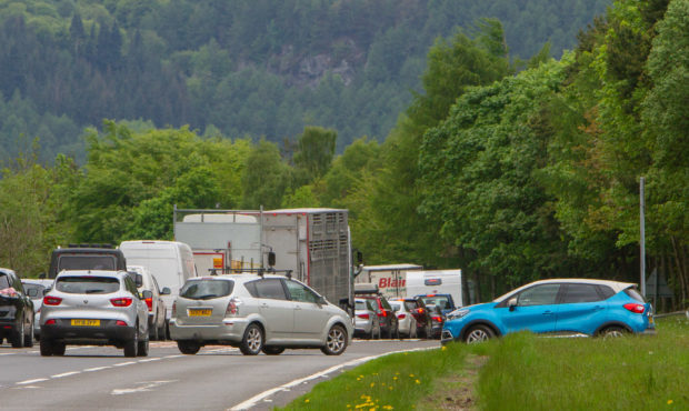 Police say 96-year-old man died in A9 accident near Dunkeld - The