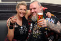 Tammy and Paul begin their honeymoon at Bonfest 2018. DC Thomson