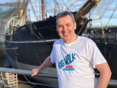 """Angus McLeod has been chosen as the Scottish """"Big Walker"""" for 2018."""