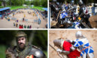 The International Medieval Combat Federation World Championships at Scone Palace.