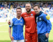 The three departing St Johnstone legends.