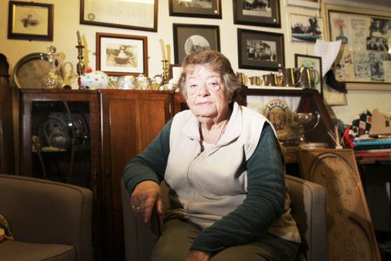 Monifieth House of Memories chair Margaret Copland.