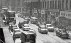 Traffic in Reform Street during busier times, 1960