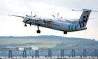 FlyBe stopped flying out of Dundee Airport last year following a long association with the airfield.
