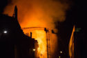 The fire at the Mackintosh Building at the Glasgow School Of Art