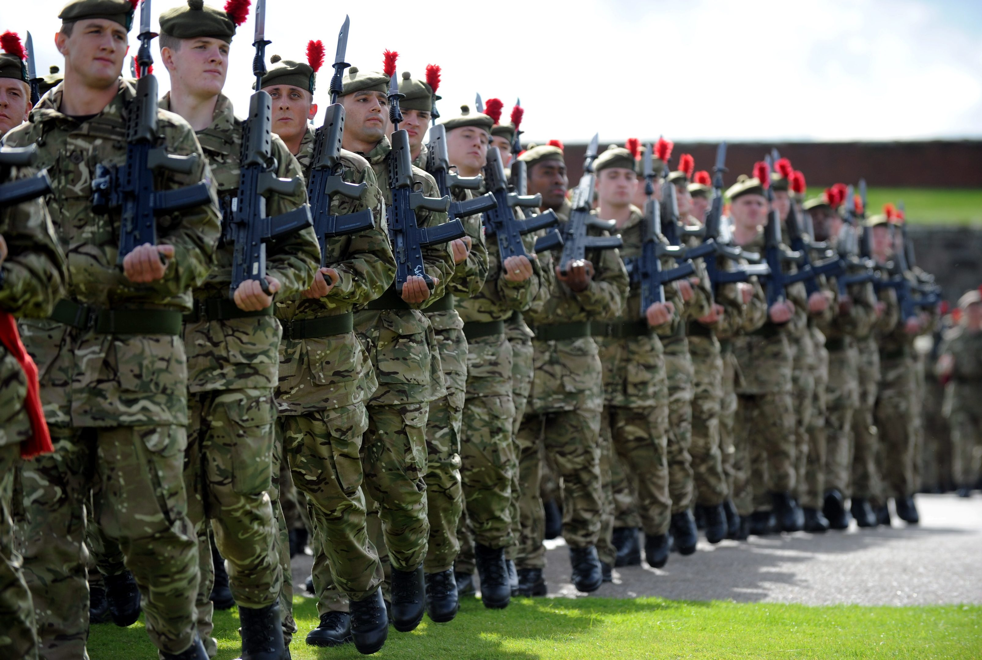 The Black Watch, 3 Scots, Royal Regiment of Scotland.