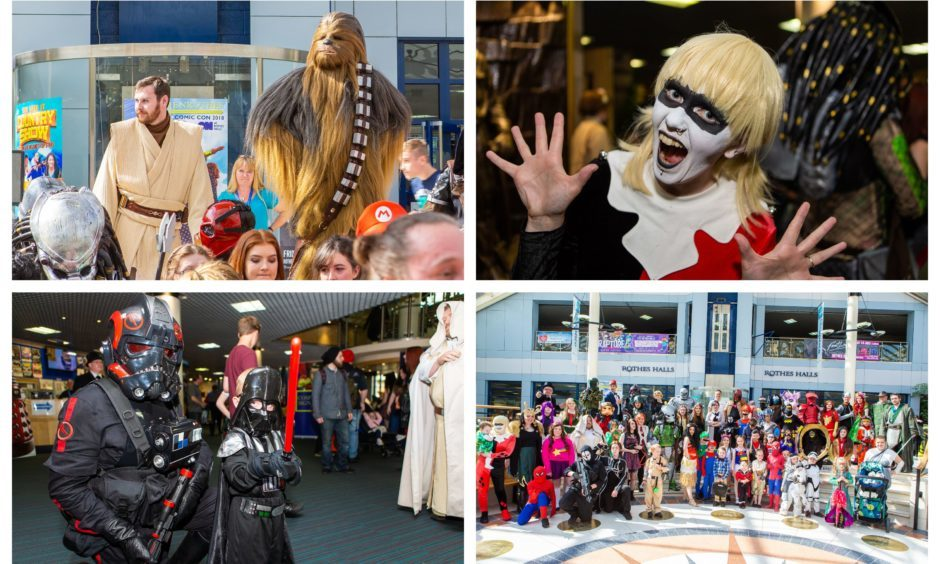 The 2018 Glenrothes Comic Con