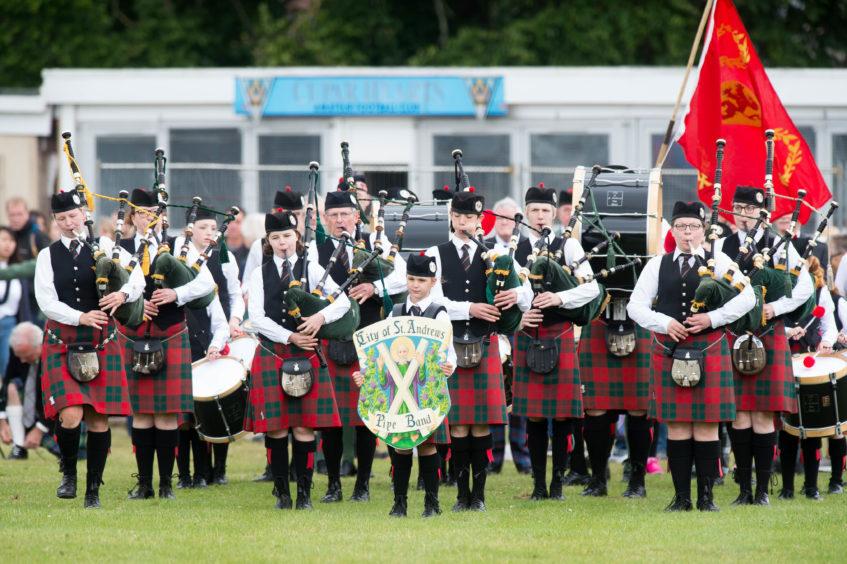 The Cupar Highland Games.