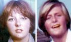 Christine Eadie (left) and Helen Scott, who were murdered by Angus Sinclair in 1977.
