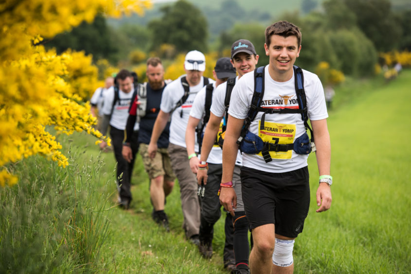 The annual Cateran Yomp