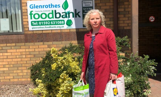 Claire Baker MSP is helping Glenrothes Foodbank tackle holiday hunger for Fife schoolchildren