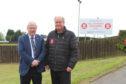 MP Douglas Chapman with David Baillie.