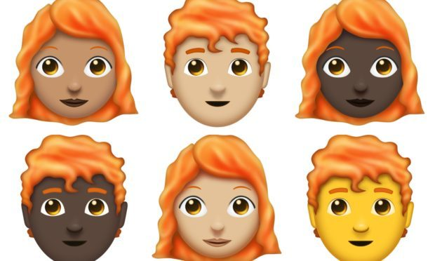 The new ginger emojis