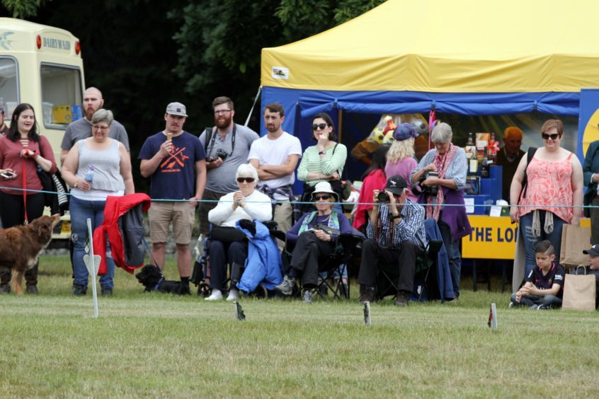 Crowds at Strathmore Highland Games, Glamis Castle