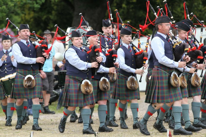 Perth & District Pipe Band