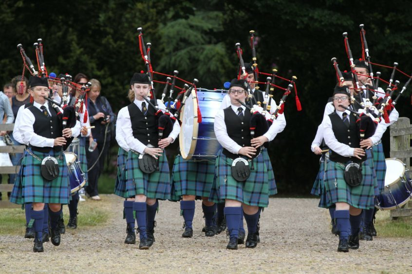 The Fraserburgh RBL Pipe Band
