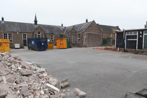 The Damacre Centre is making way for new affordable homes
