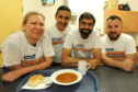 Volunteers at one of the organisation's charity lunches