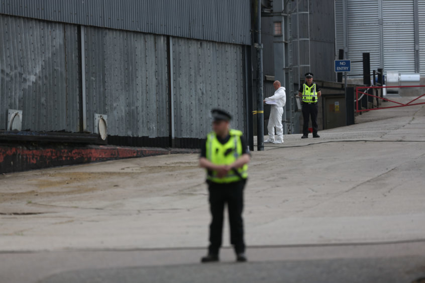 Man Dies After Falling Through Roof At Angus Granary The