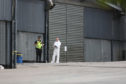 Police Scotland personnel  and scene of crime officers are in attendance at Stracathro.