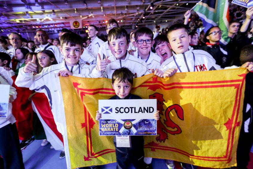 Athletes representing Scotland