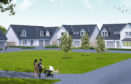 An impression of how the houses at Balgillo Heights might look.