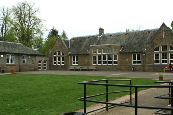 Longforgan School which is due an upgrade.