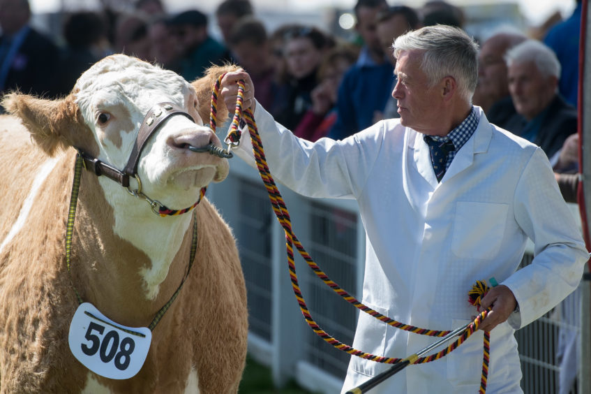Day one of the Royal Highland Show at Ingliston