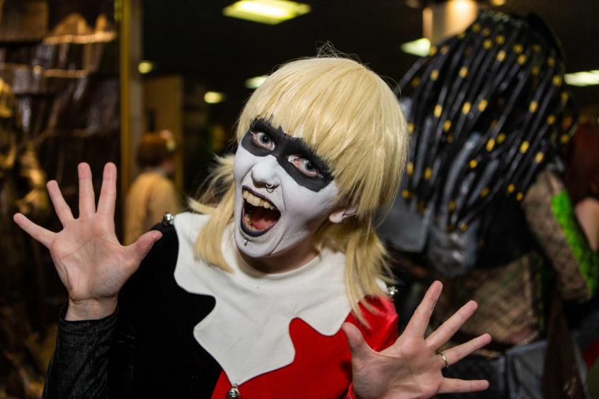 Toni Mackintosh as Harley Quinn