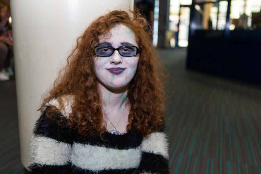 Rachel Wilson (14) as Beetlejuice
