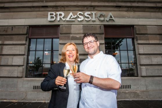 Owner Dea McGill and executive chef Scott Cameron.