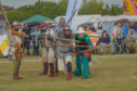 The Knights of Monymusk at Monifieth Medieval Fair.
