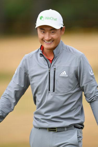 Haotong Li of China.