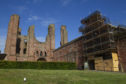 Arbroath Abbey was targeted by vandals