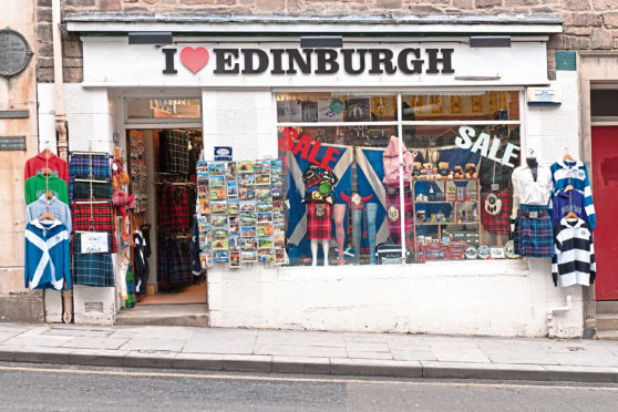 It is time we gave visitors to Scotland quality, locally made souvenirs, says one correspondent.
