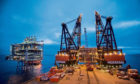 The Clair field development is one of the largest investment projects in the North Sea
