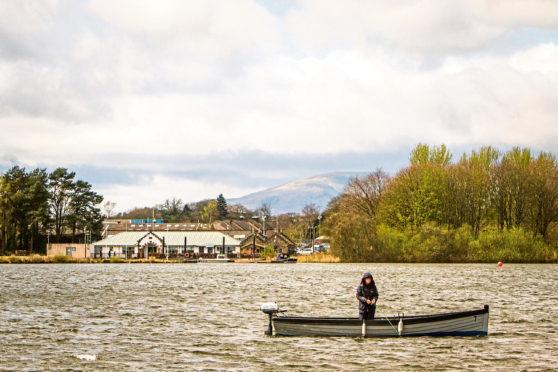 Loch Leven in Kinross