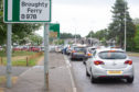 The eastbound lane of the Arbroath Road, between the Scott Fyffe roundabout and Claypotts, is to be closed for two weeks.