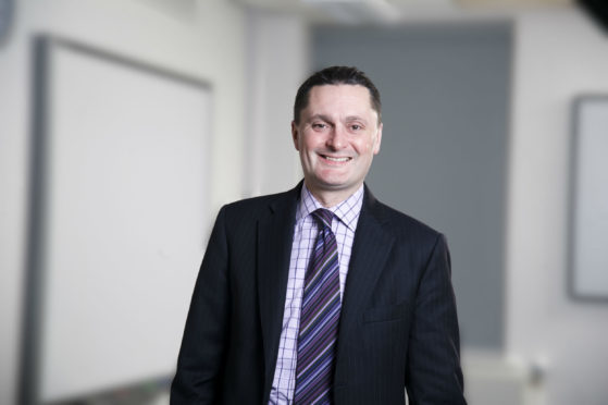 The newly appointed Dundee University principal, Professor Andrew Atherton.