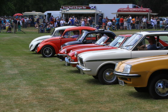 Some of the classics from '67 to '80 in the ring at the Glamis Extravaganza.